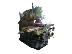 Vertical movable working bench milling machine